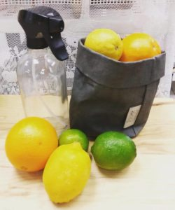 Vinaigre et citrons