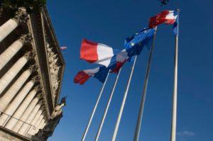 Fronton de l'Assemblée nationale française