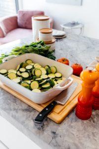 Une préparation à base de légumes