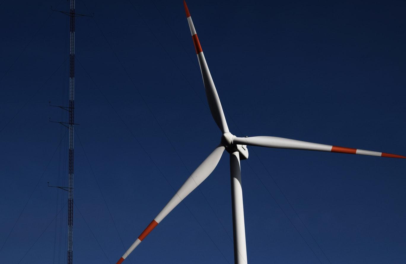 Hélice d'une éolienne