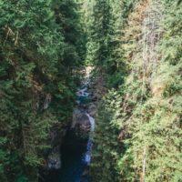 Reserve naturelle de British Columbia au Canada