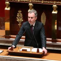 François de Rugy à l'Hemicycle en 2014