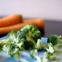 Du brocoli et des carottes