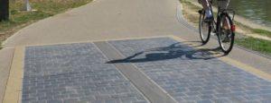 La piste cyclable solaire de Bobigny