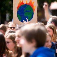Une manifestation de Youth For Climat en Allemagne