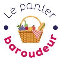 Le logo de l'initiative Le Panier Baroudeur.