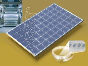 Le film photovoltaïque Solar Energy Optics (SEO) de l'entreprise finlandaise Intelligent Control Systems (ICS).