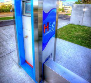 Une borne de recharge d'hydrogène (Photo : flickr).