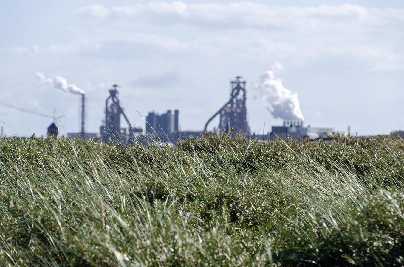 Une usine aux Pays Bas.
