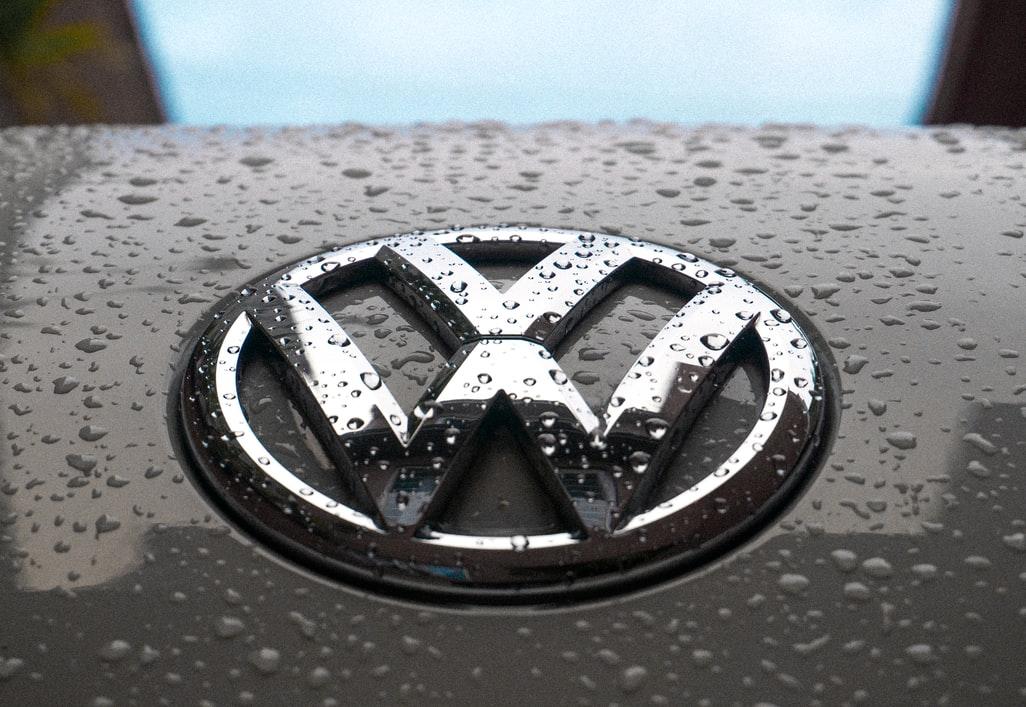 Le logo de la marque Volkswagen.
